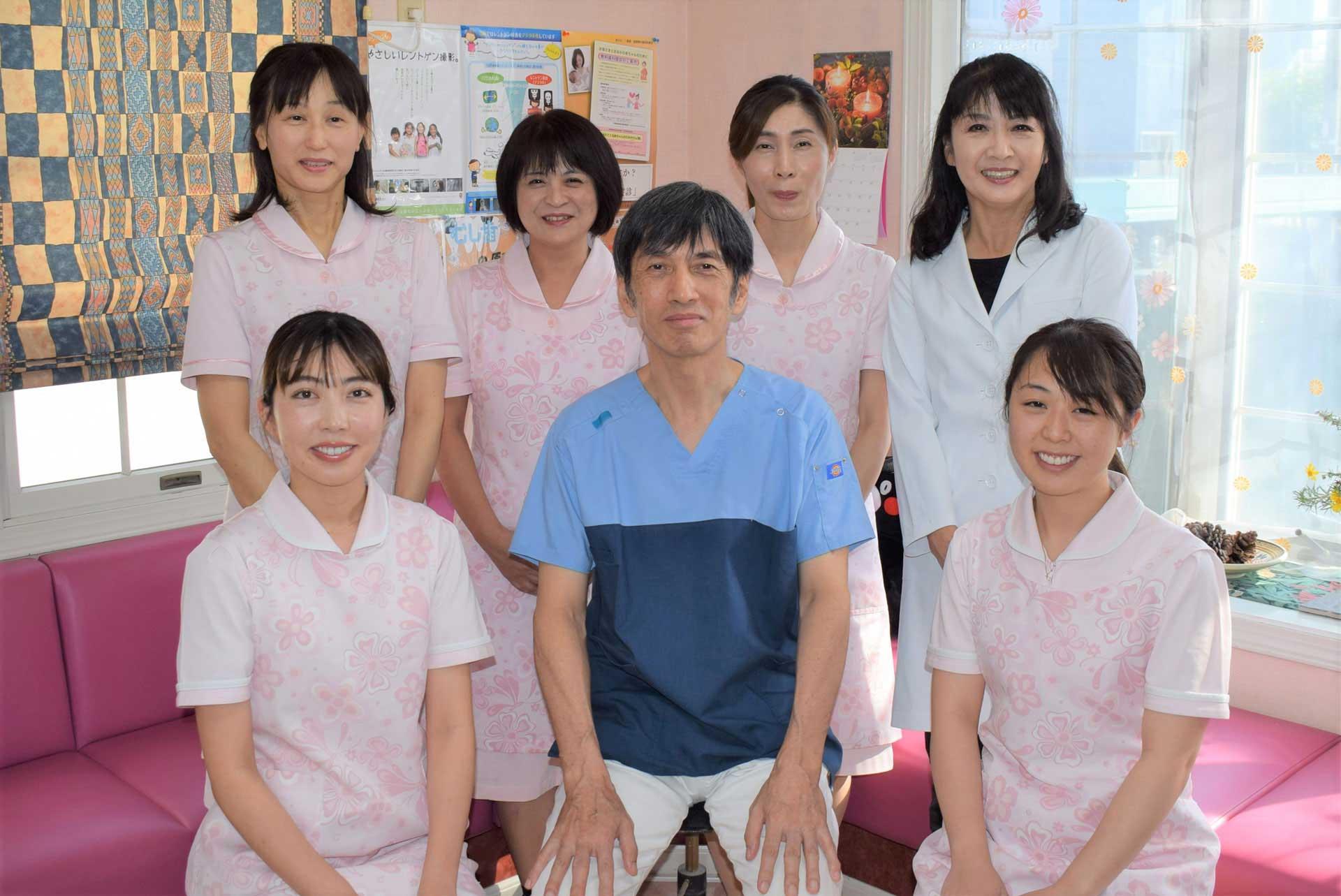 うえだ歯科医院スタッフ一同